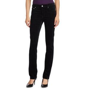 New Womens LRL Premier Straight Corduroy Pants S10